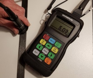 Controle carbone ultrason 5